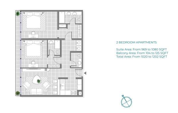 Copy of 2 Bedroom Apartment