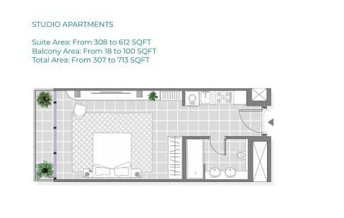 Copy of Studio Apartment